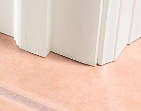 Photo 2: Tile under casing