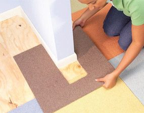 How to Lay Carpet Squares