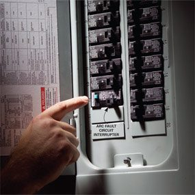 Fix A Sensitive Arc Fault Circuit Breaker The Family Handyman