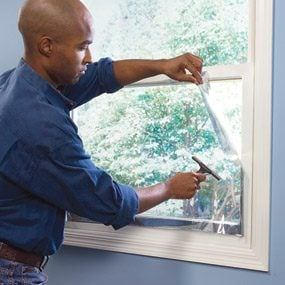 Installing window film
