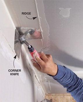 Corner knife