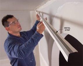 Reinforced corner tape