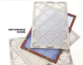 A clogged furnace filter can cause a furnace to shut off.