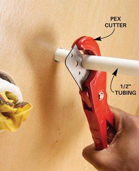 Photo 3: PEX cutter