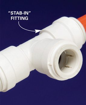 Photo 4: Stab-in fittings
