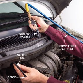 Windshield Washer Repair: How to Fix Your Window Washer ...