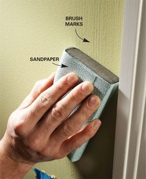 Eliminate Paint Brush Marks