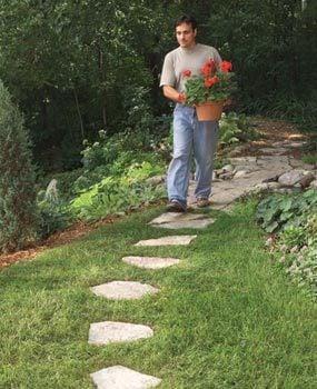 Easy-mow path