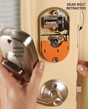 front door locksUpgrade Front Door Locks With Keyless Door Locks  Family Handyman