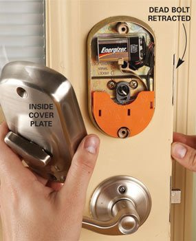 Upgrade Front Door Locks With Keyless Door Locks