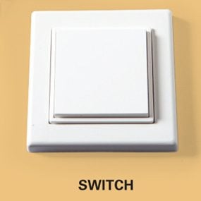 Wireless Electrical Switch: Battery-Free, Finger Powered Switch