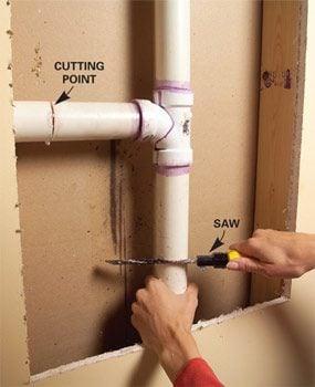 Photo 2: Remove pipe