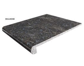 Standard Granite Floor Tiles Bullnose Outside Corner Inside
