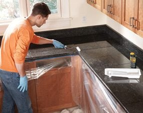 Photo 11: Seal the countertop