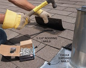Roof Flashing: Replace Plumbing Vent Flashing