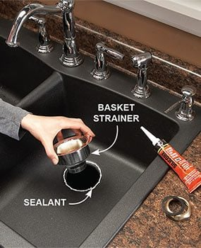 Seal Basket Strainer