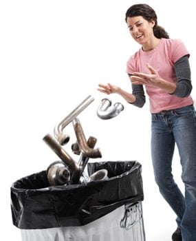 Replace the Entire Waste Assembly