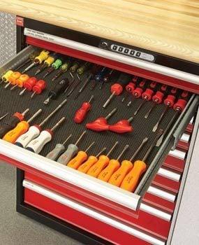 Sturdy metal tool cabinets
