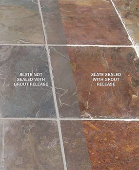 Sealed vs. unsealed slate