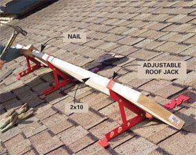 Photo 1: Install roof jacks