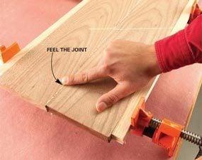 Make the boards even