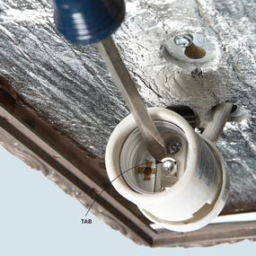 Repair a Light Fixture