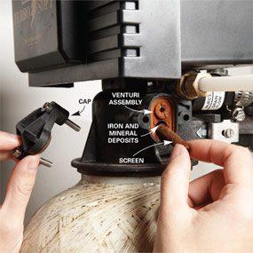 Fix a Water Softener