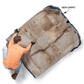 Install New Car Carpet