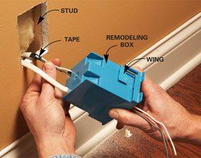Photo 2: install new box