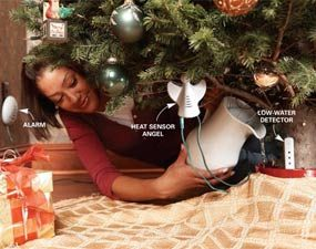 Christmas tree safety system