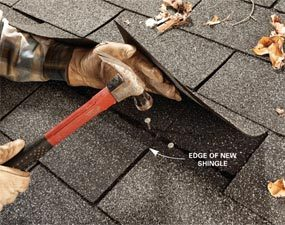 Easy Shingle Repair