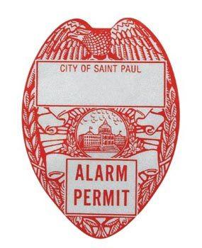 Alarm permit