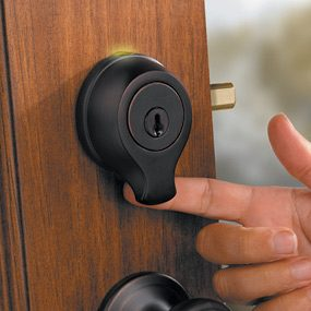 Finger-Scan Entry Locks