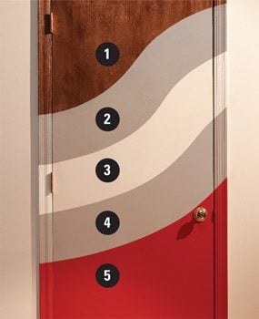 Door Refinishing: Painting Varnished Doors