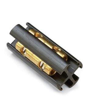 Use a splice block to repair underground wiring.