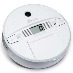 Digital display CO detector