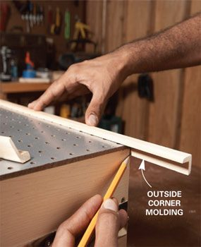 Photo 4: Install trim