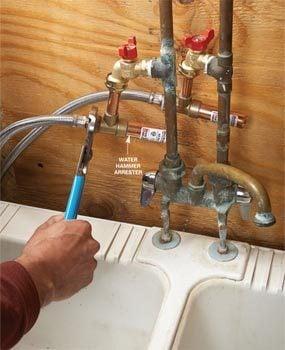 Silence Noisy Water Pipes The Family Handyman