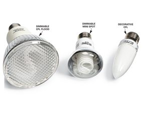 CFL Flood Lights for Outdoor Photocells