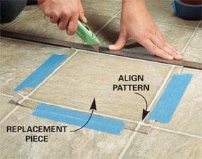 Repair Vinyl Flooring Patch Damaged Flooring The Family