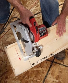 Framing carpenters' trick