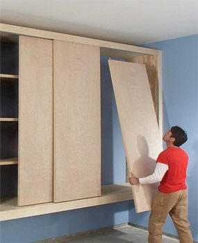 Superbe Giant DIY Garage Cabinet
