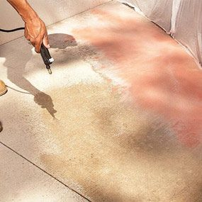 Renew Your Concrete Patio: How to Stain Concrete