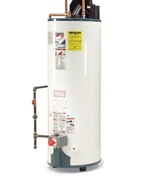 High-efficiency water heater