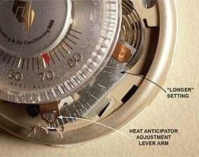 How To Adjust A Mechanical Thermostat The Family Handyman