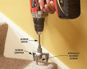 How To Repair Squeaky Stairs The Family Handyman