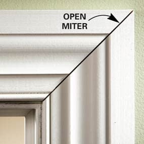 open miters