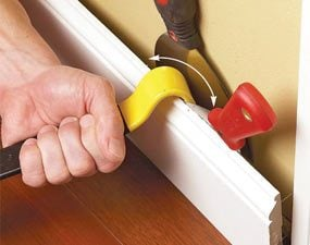 how to remove basboards wood wall trim baseboard removal tool