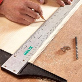 Drafting square measurements