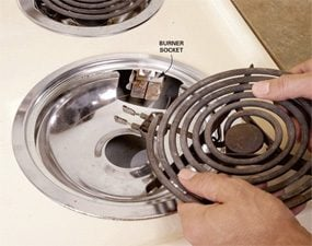 stove burner repair